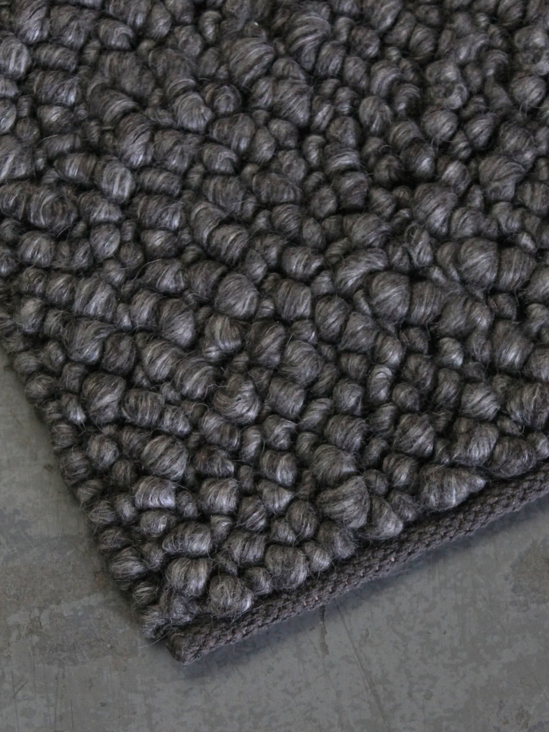 Charcoal wool rugs Perth