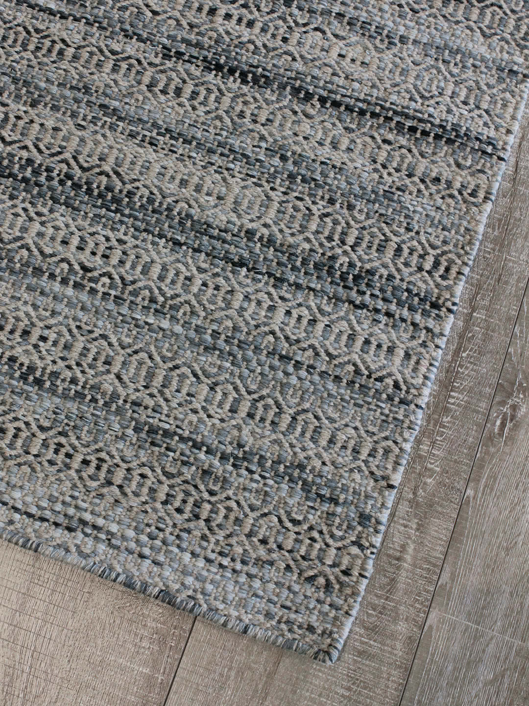 Denim pure wool rugs Perth