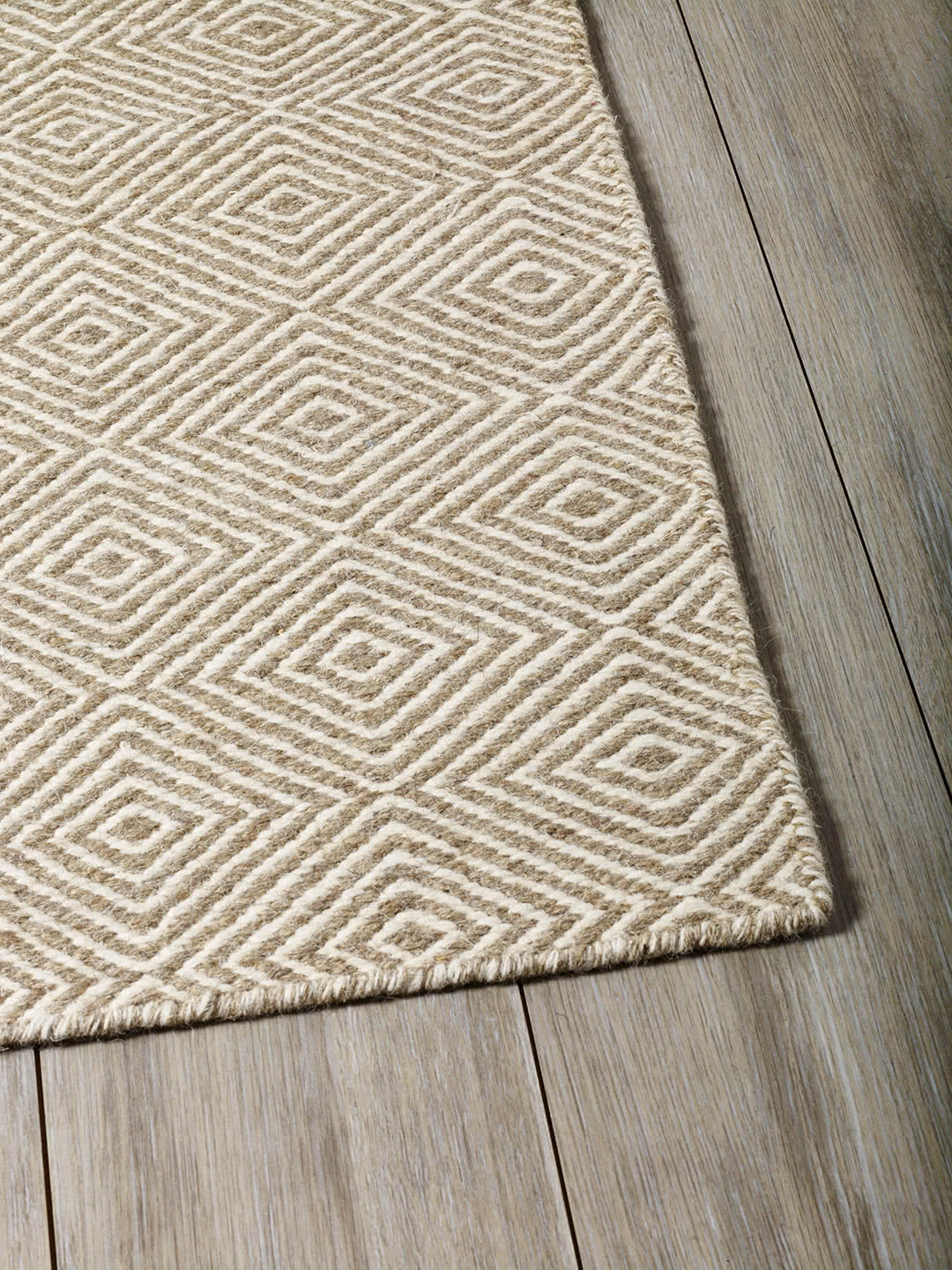 Natural Beige pure wool rugs Perth
