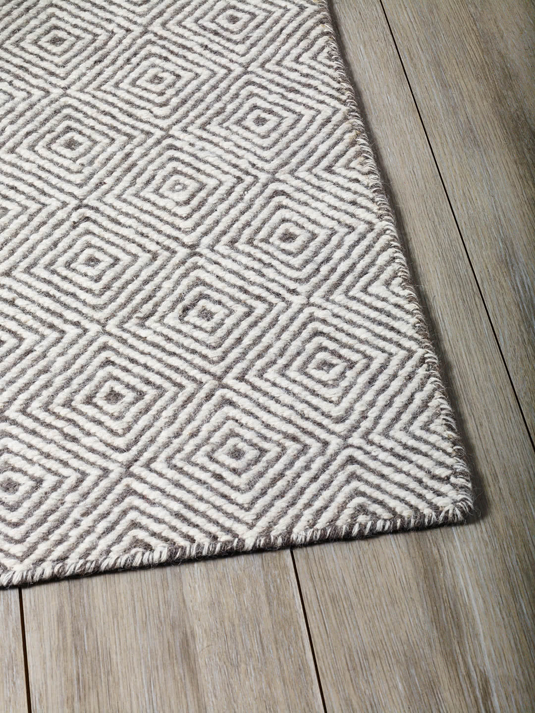 Natural Grey pure wool rugs Perth