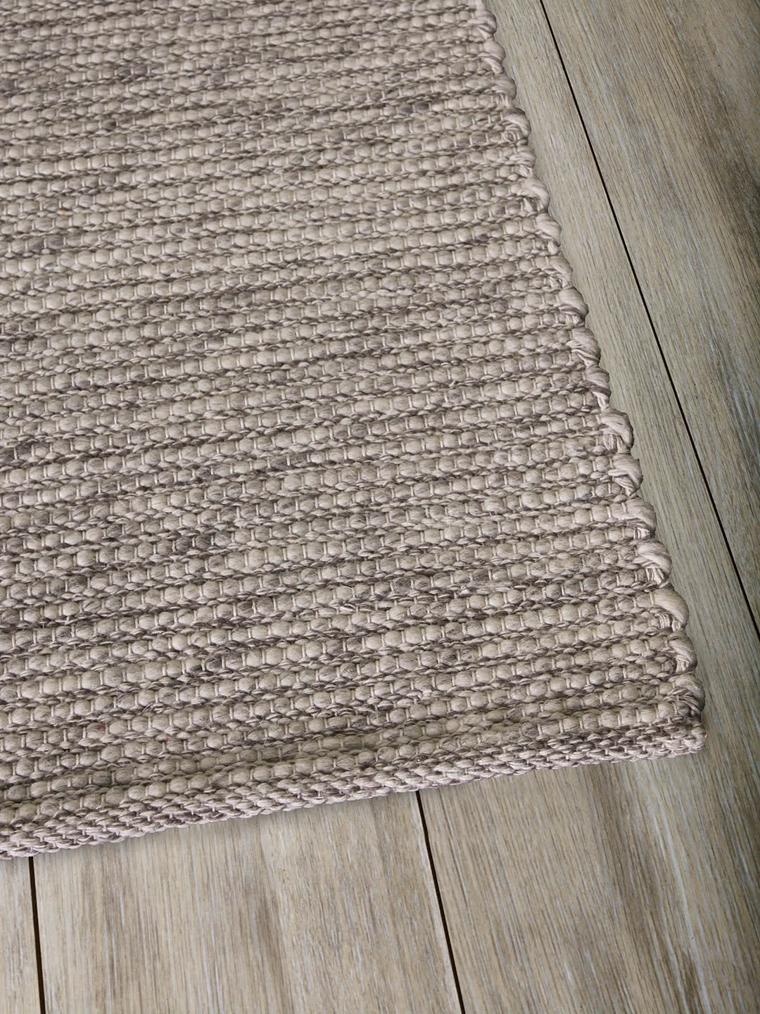 Natural Light Grey pure wool rugs Perth