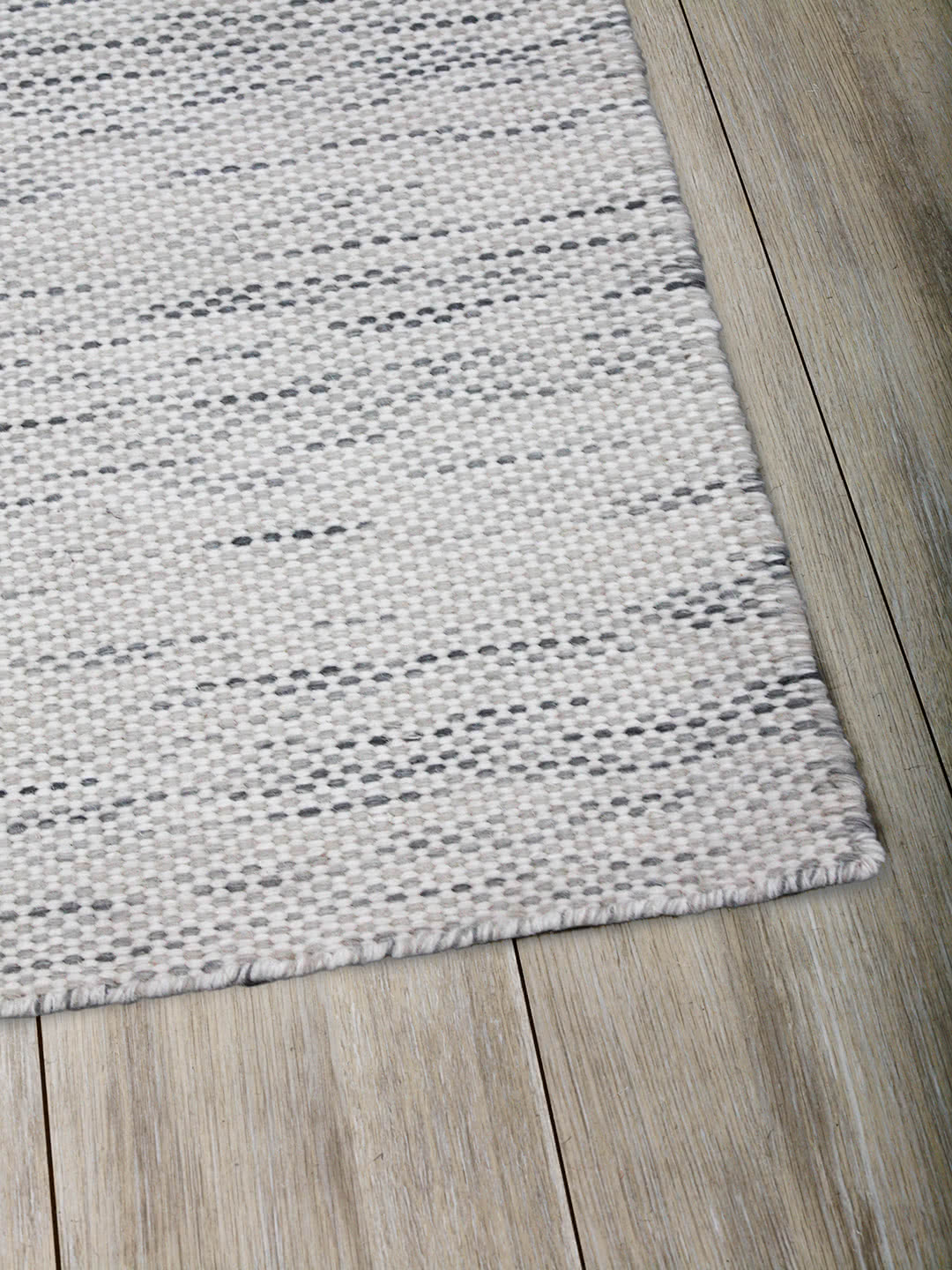 Silver Ivory pure wool rugs Perth