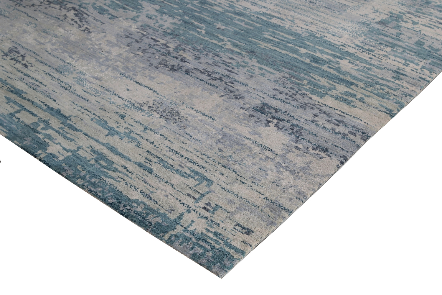 Julius - Aqua wool rugs