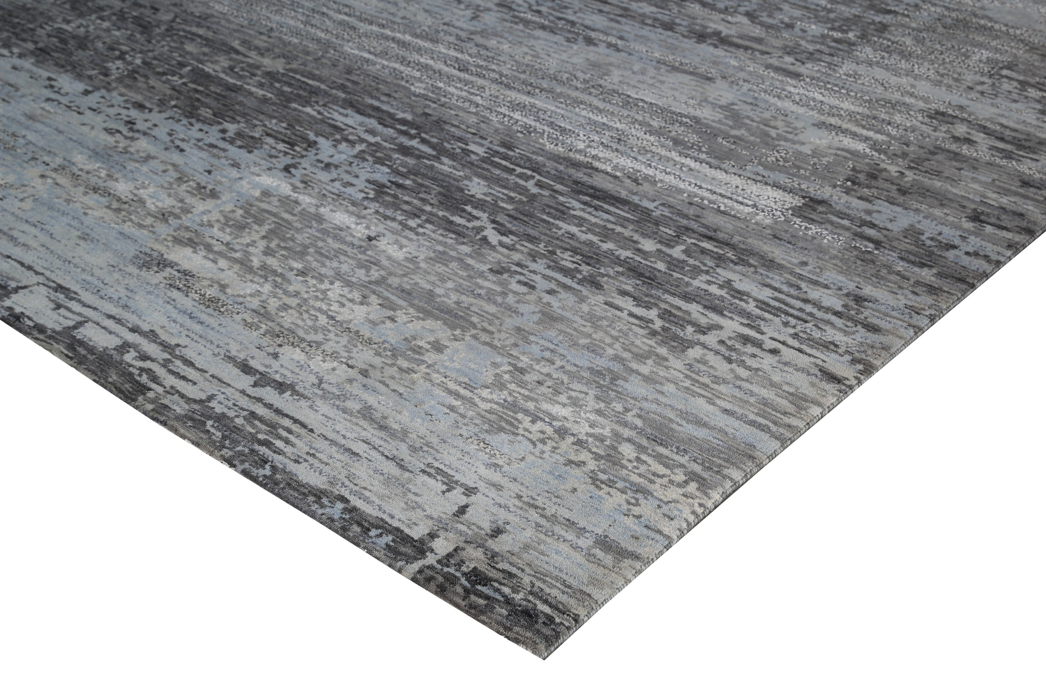 Julius - Grey wool rugs