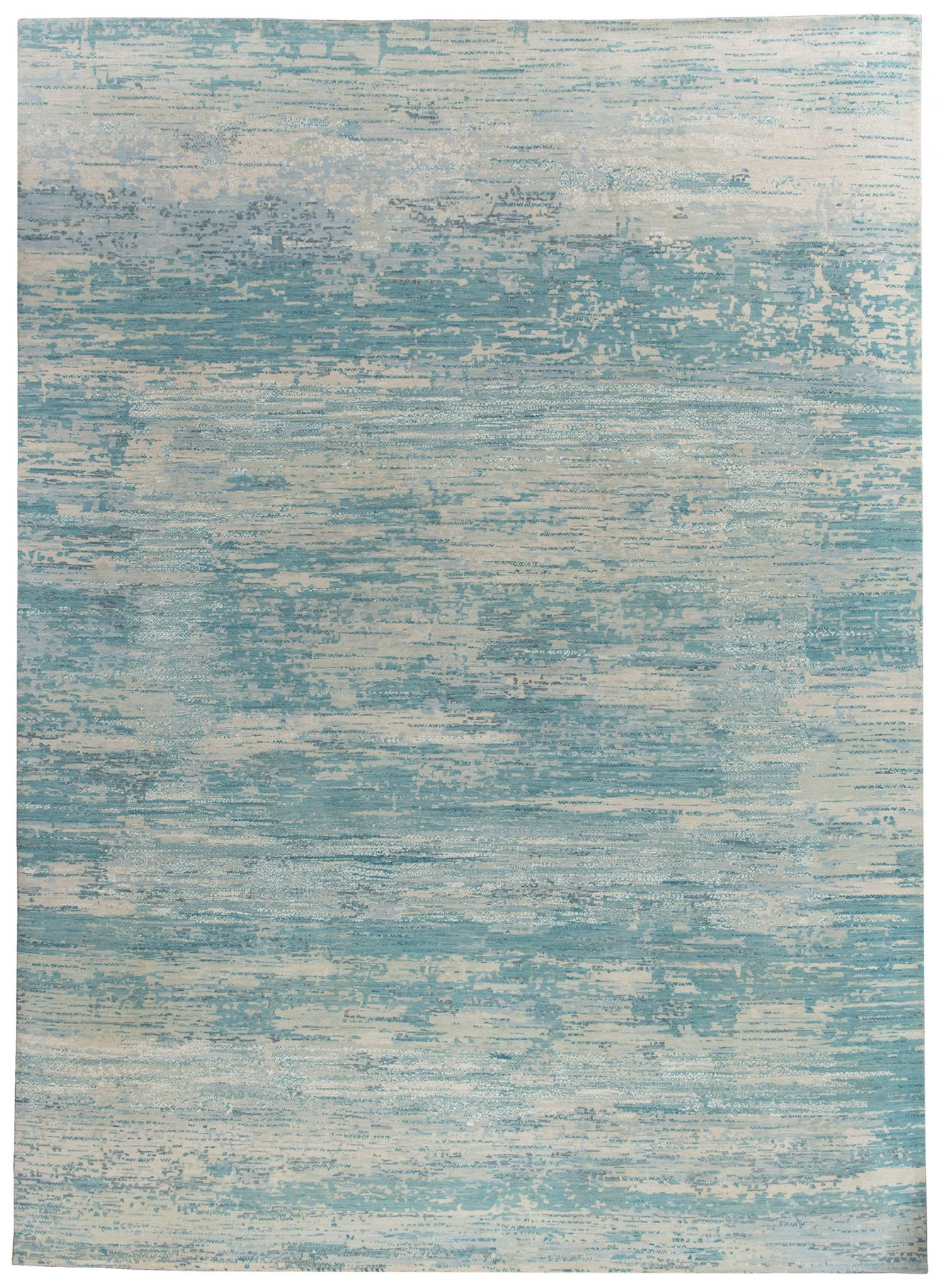Julius Aqua wool rugs