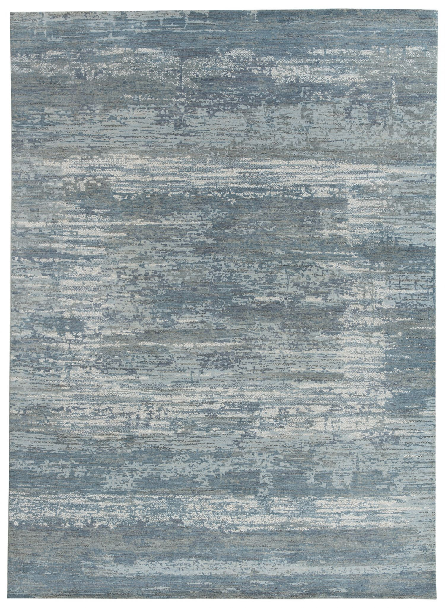 Julius Blue wool rugs