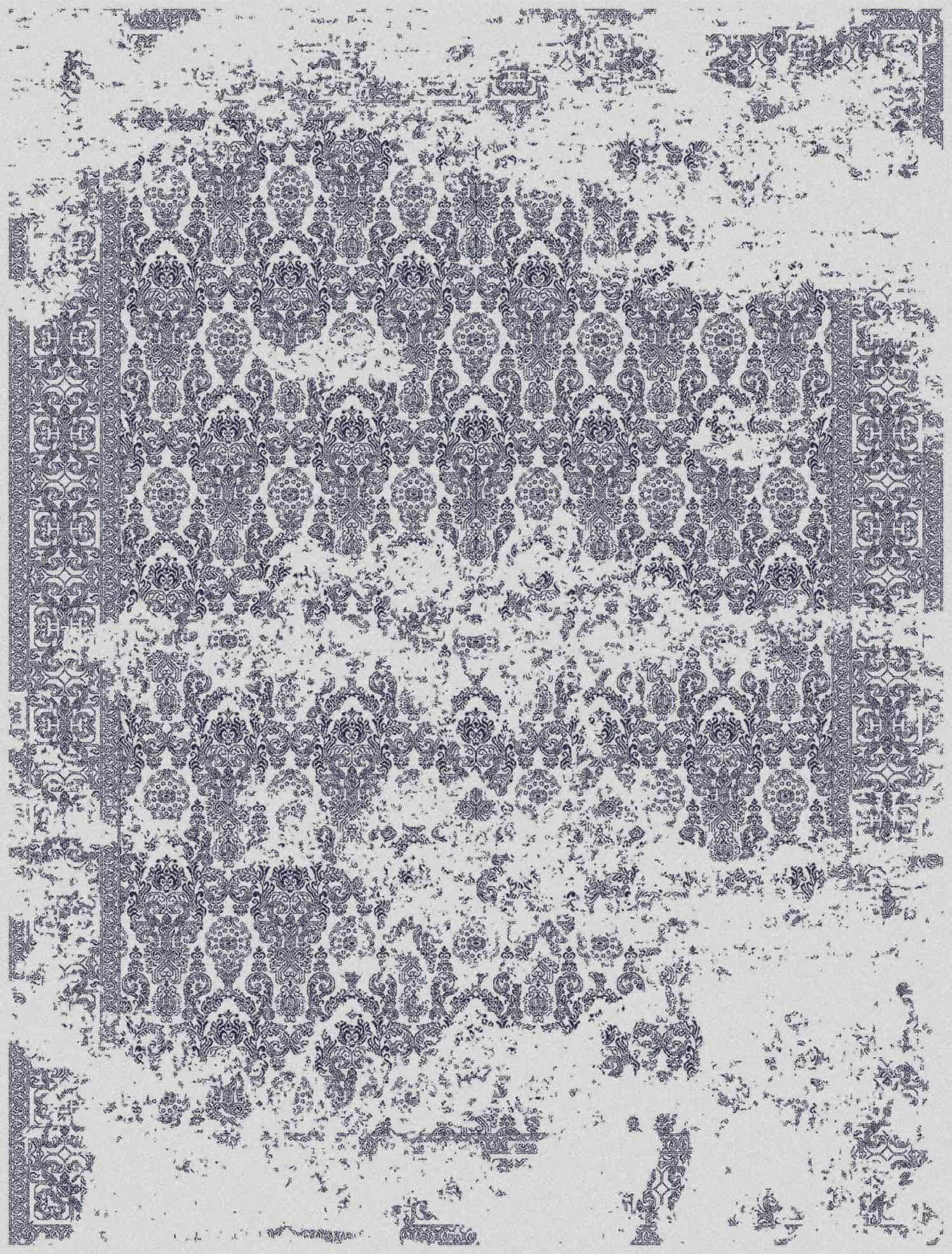 Kingdom - Silver/Ink Blue rugs