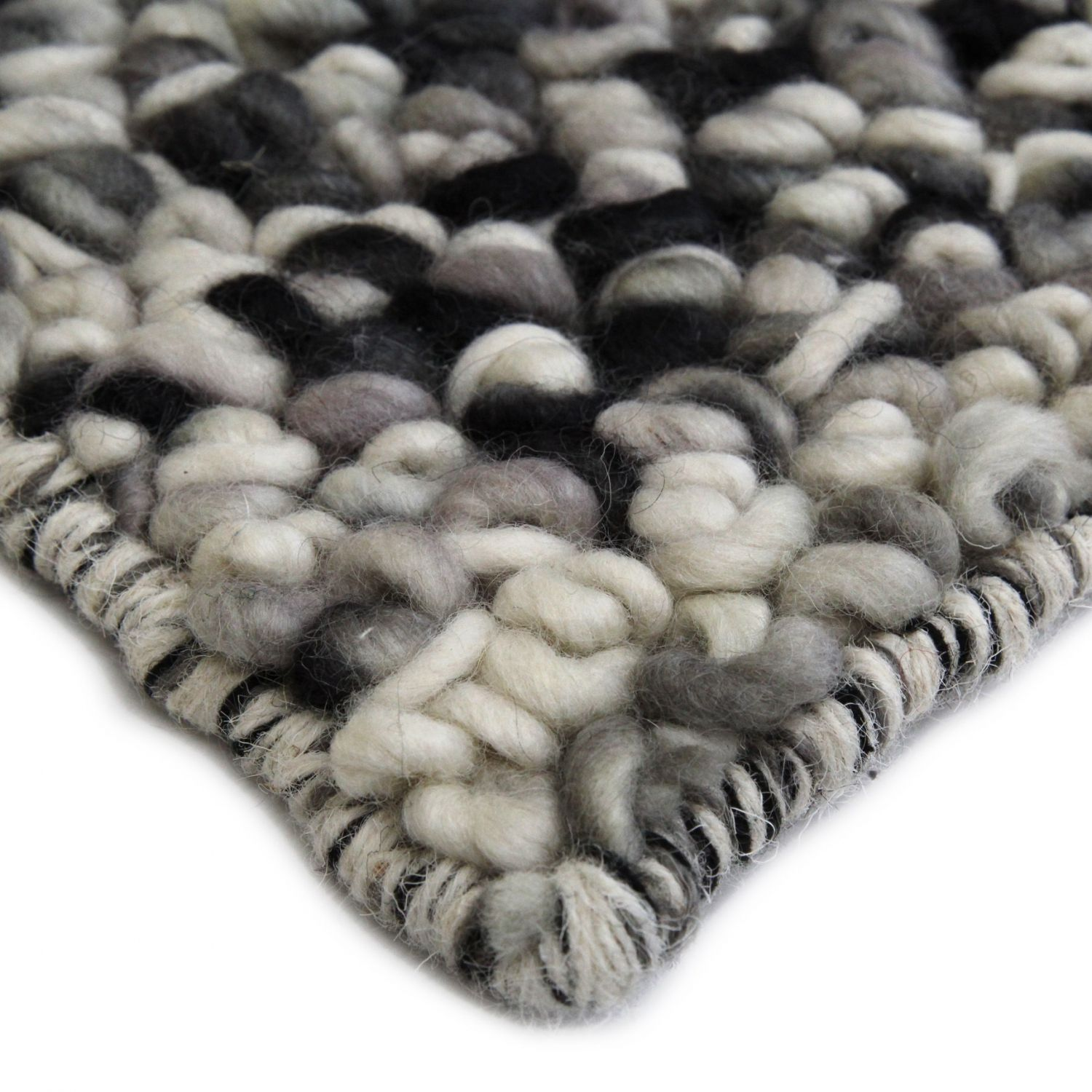 volume-grey-dust textured rugs