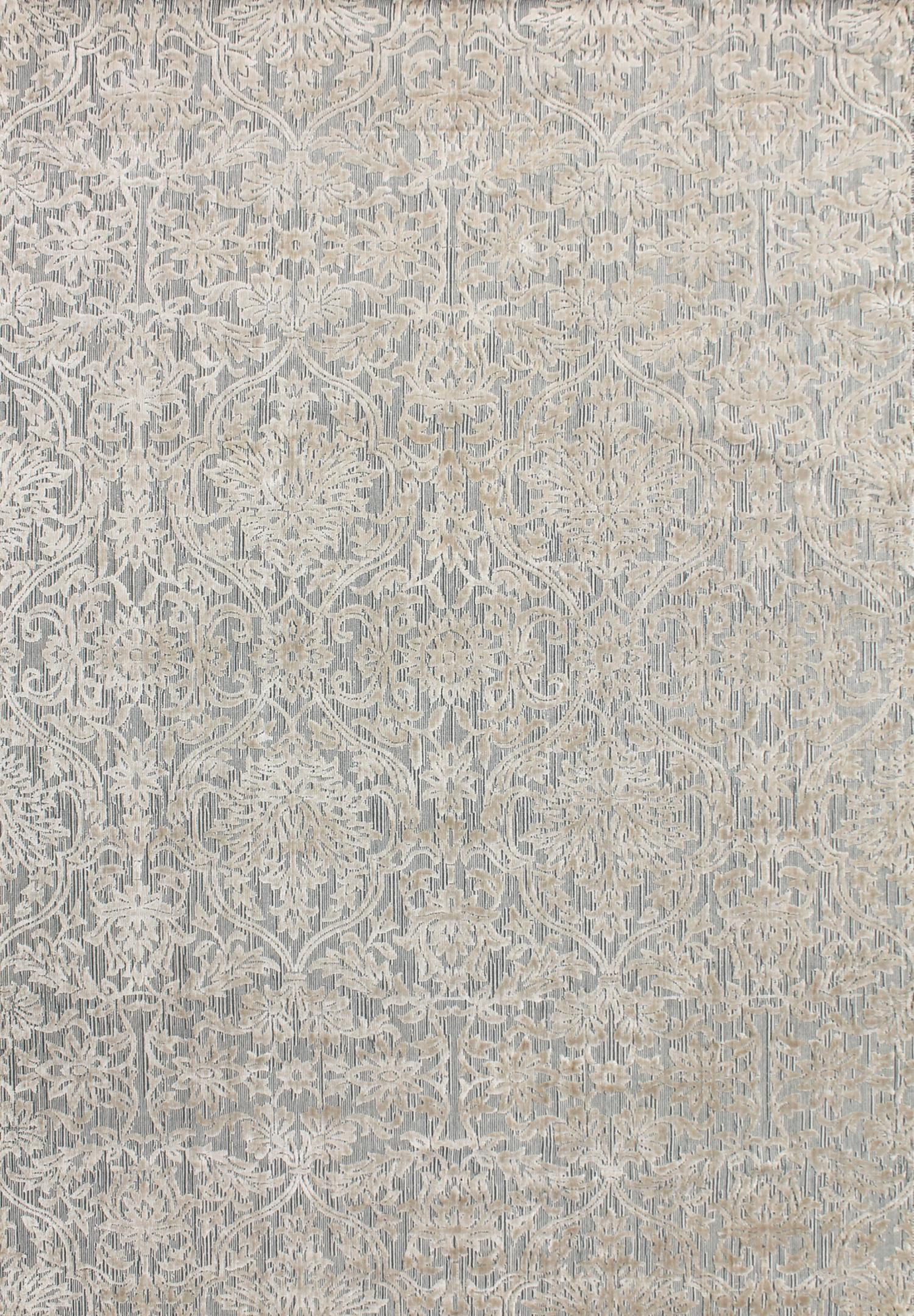 metz-silver-art-silk-raised-traditional-rugs-Stans-Perth-beige