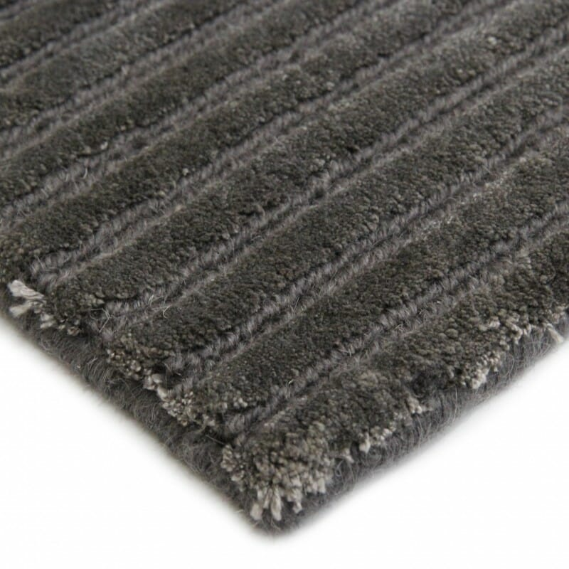 plaza-hand-knotted-viscose-and-wool-rug-perth-Stans-modern-contemporary-dark tin