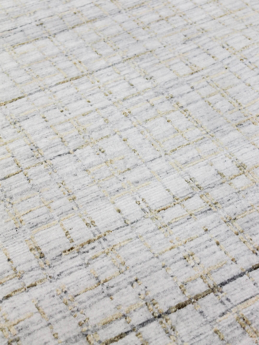 gold-hand woven-wool-art-silk-rugs-stans-perth