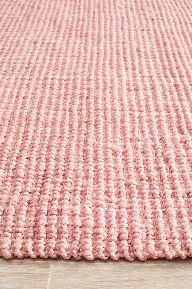 Barker-Jute-natural-rugs-perth-stans-pink
