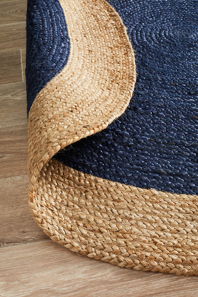Polo-natural-jute-stans-rugs-perth-navy-blue